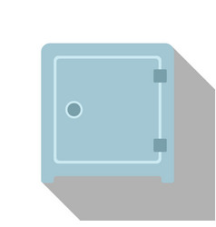 flat icon of safe vector image