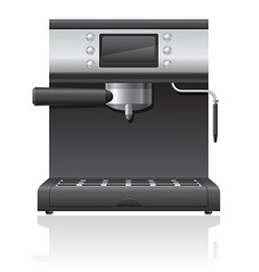 coffee maker 03 vector image