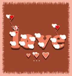 Love1 vector image