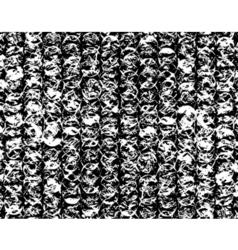 bubblewrap grunge vector image