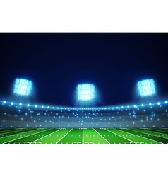 American football field eps 10 vector