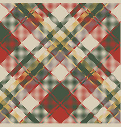 burlap tartan fabric texture check seamless vector image