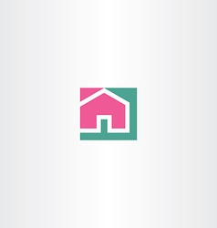 home sign symbol icon vector image vector image