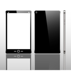 Template phone vector image