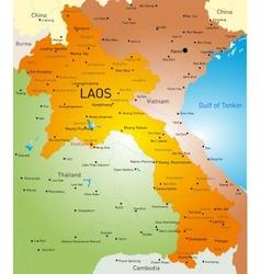 Laos country vector