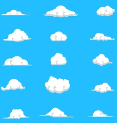 Cloud collection 9 vector