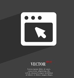 Dialog box icon symbol flat modern web design with vector