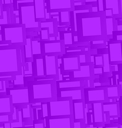Violet seamless rectangle pattern background vector