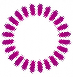 abstract ring vector image