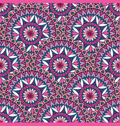 Abstact floral oriental seamless pattern vector