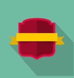 badge emblem icon flat style vector image