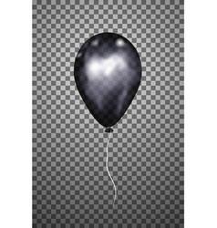 Black air balloon eps10 vector