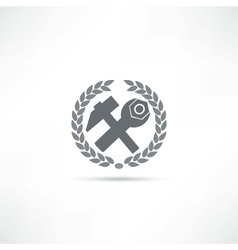 Car assistance icon vector