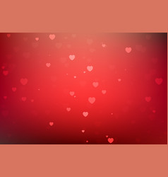 happy valentines day greeting background vector image vector image