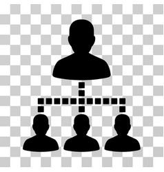 People hierarchy icon vector