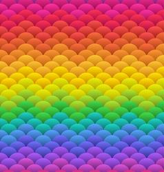 Rainbow blobs seamless vector