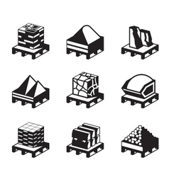 Construction and building materials vector