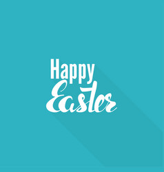 easter inscription vector image vector image