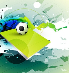 football template vector image vector image