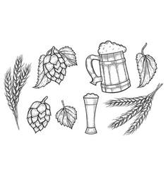 oktoberfest day poster vector image