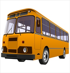 Passenger bus01 vector