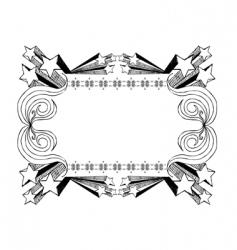 Sketchy frame vector
