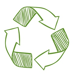 Recycle arrows vector
