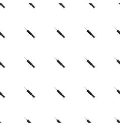 Syringe icon seamless pattern vector image