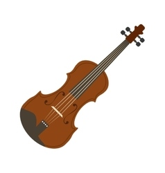 Violin music instrument vector