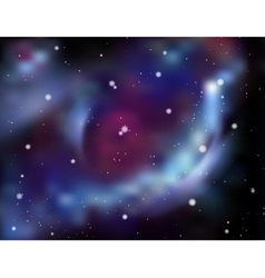 Galaxy background abstract vector