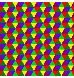 Abstract multicolored geometric seamless pattern vector