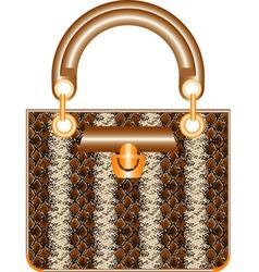 Female handbag vector image