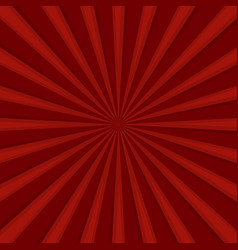 Red comics radial speed lines graphic effects vector