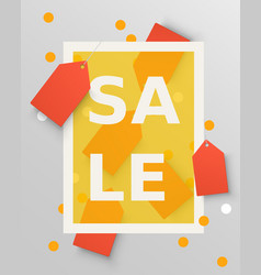 sale labels design elements vector image vector image