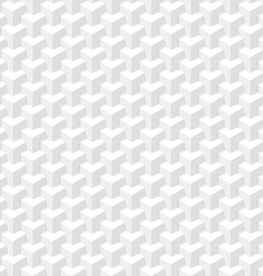 White seamless geometric texture vector image vector image