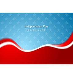Abstract usa colors background vector