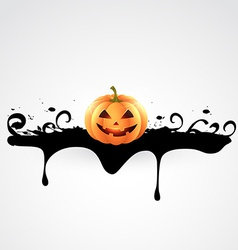 creepy halloween design vector image vector image