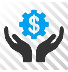 Maintenance price icon vector