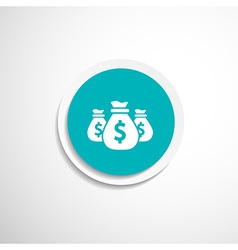 Money bags edit layers icon funds buy vector