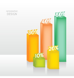 Abstract 3d digital graph can be used for workflow vector