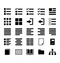 Content Icon vector image