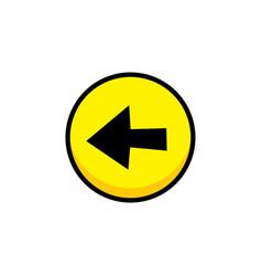 Arrow video game asset menu icon button layer art vector
