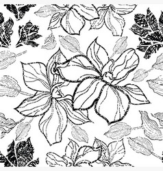 Flower seamless 10 grunge vector
