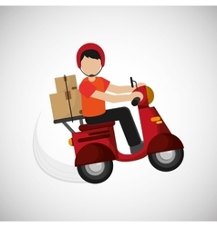 Graphic design of delivery  editable vecctor vector