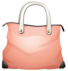 A leather handbag vector