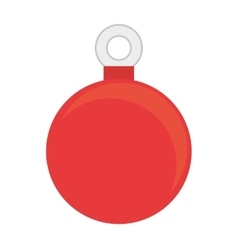 ball decoration object vector image