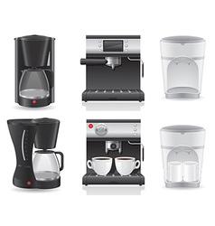 Coffee maker 07 vector