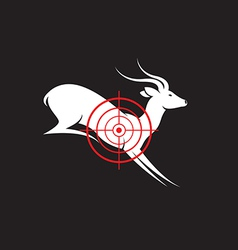 Deer target vector