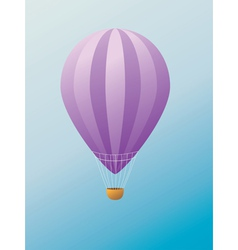 Hot air balloon2 vector