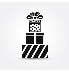 icon Gift box icon vector image vector image